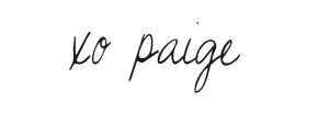 paige-signiture